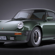Porsche 911 930 Turbo 1975 3D Model