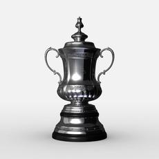 FA Cup Trophy 3D Model