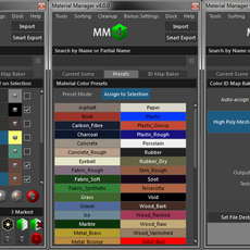 Material Manager for Maya 4.3.0 (maya script)