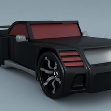 Hot Wheels Bassline 3D Model
