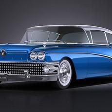 Buick Riviera Super 1958 3D Model