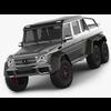 Mercedes G63 AMG 6x6 3D Model