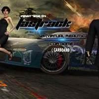 Fastrack vr 3d game design for cardboard cover