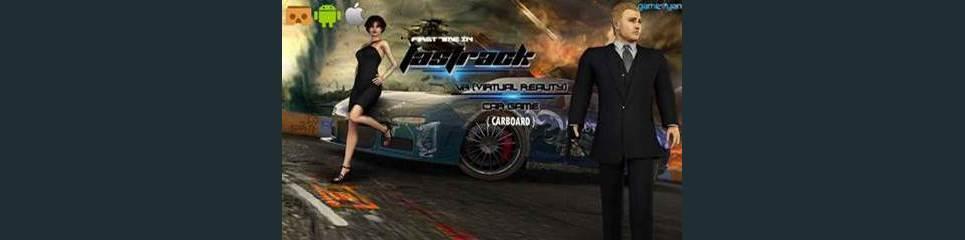 Fastrack vr 3d game design for cardboard show