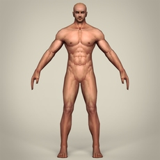 Game Ready Realistic Man 3D Model