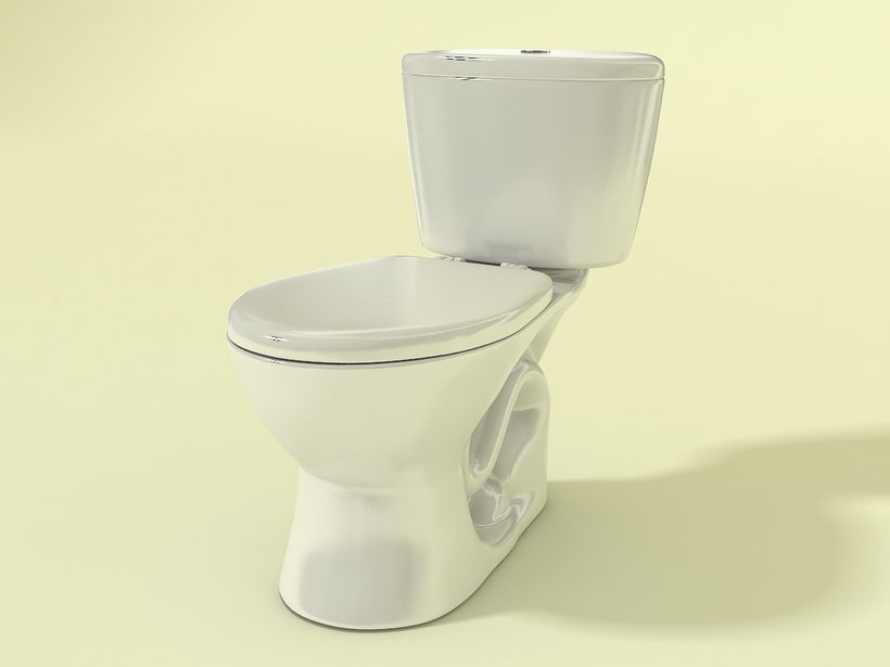 Ganamax toilet 3d model