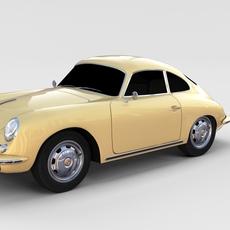 Porsche 356 Coupe rev 3D Model