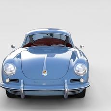 Porsche 356 rev 3D Model