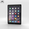Apple iPad Air 2 Space Grey 3D Model