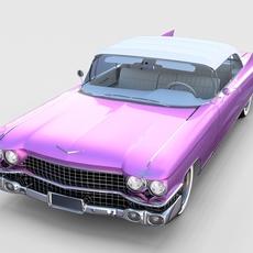 1959 Cadillac Eldorado Biarritz Top rev 3D Model
