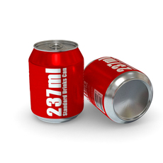 Drinks Can - 237ml Standard 3D Model