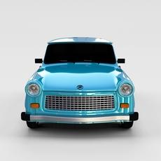 Trabant 601 rev 3D Model