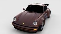 1975 Porsche 911 930 rev 3D Model