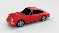 1964 Porsche 911 rev 3D Model