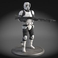 Star Wars Scout trooper 3D Model