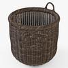 10 52 07 134 008 wicker basket07 walnut brown  4