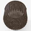 10 52 14 144 014 wicker basket07 walnut brown  4