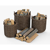 10 55 06 18 001 basket07 walnut brown firewood  4