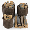10 55 09 658 003 basket07 walnut brown firewood  4