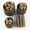 10 55 10 930 004 basket07 walnut brown firewood  4