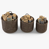 10 55 15 274 007 basket07 walnut brown firewood  4