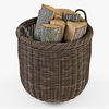 10 55 20 459 009 basket07 walnut brown firewood  4