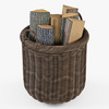 10 55 21 470 010 basket07 walnut brown firewood  4