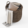 10 56 08 412 005 basket07 walnut brown cloth  4