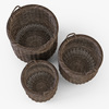 10 56 10 670 007 basket07 walnut brown cloth  4