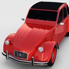 Citroen 2CV rev 3D Model