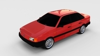 Volkswagen Passat B3 rev 3D Model