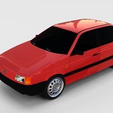 Volkswagen Passat B3 rev 3D Model