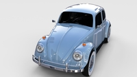 VW Beetle rev 3D Model