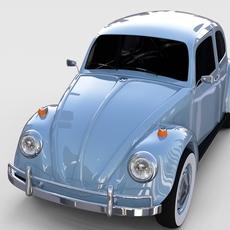 VW Beetle rev 3D Model