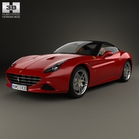 Ferrari California T 2014 3D Model