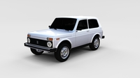 Lada Niva rev 3D Model