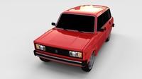 Lada Riva rev 3D Model