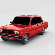 Lada Nova rev 3D Model