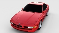 BMW 8 Series E31  rev 3D Model