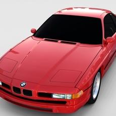 BMW 8 Series E31  rev 3D Model