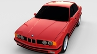 5 Series BMW E34 rev 3D Model
