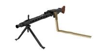 MG 42 WW2 German Machine Gun 3D Model