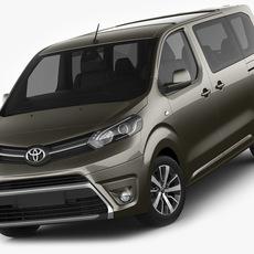 Toyota Proace Verso 3D Model