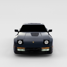 Porsche 944 Turbo rev 3D Model