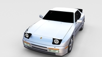 Porsche 944 Turbo S rev 3D Model