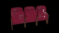 Theatre Seats 3D Model