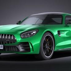 Mercedes AMG GT R 2017 3D Model