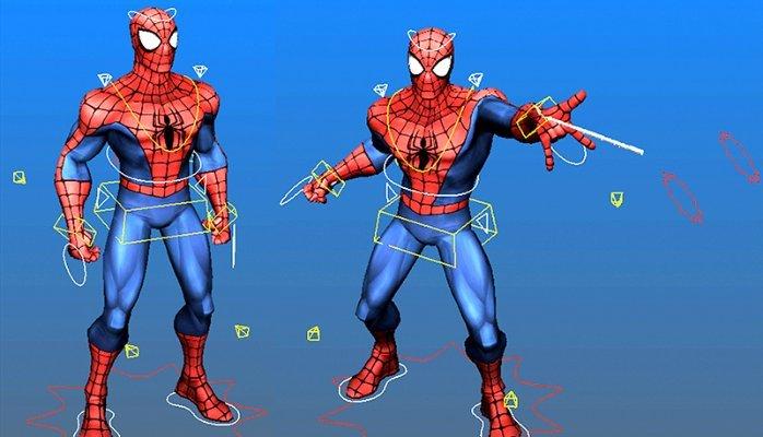 Free SpiderMan Rig for Maya