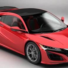 Acura NSX 2017 3D Model