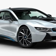 2015 BMW i8 3D Model
